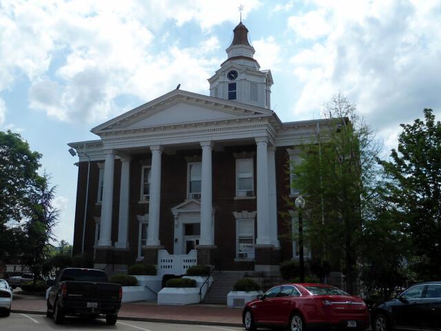 Logan County Courthouse 'east'  Paris  AR 002 image