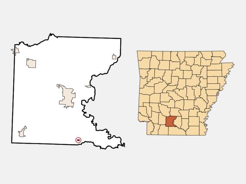 Louann locator map