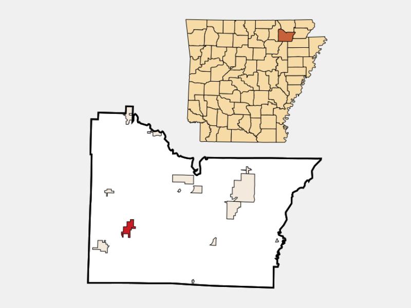 Lynn locator map