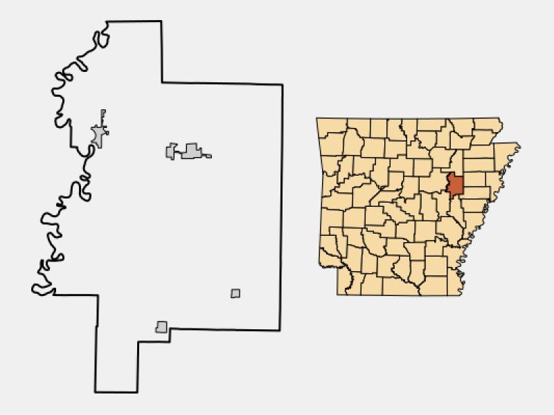 McCrory location map