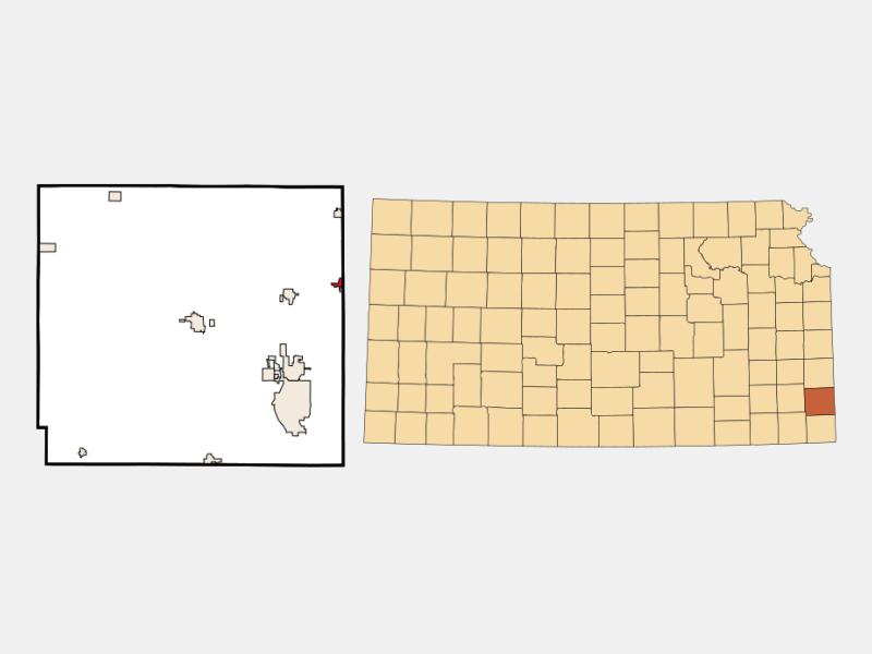 Mulberry locator map