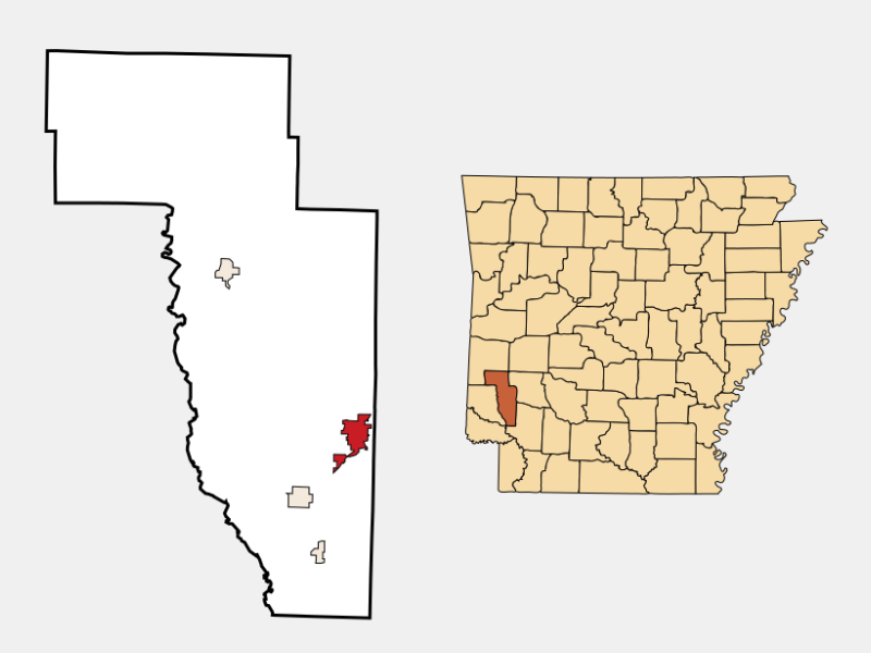 Nashville locator map