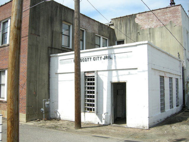 Jail entrance image