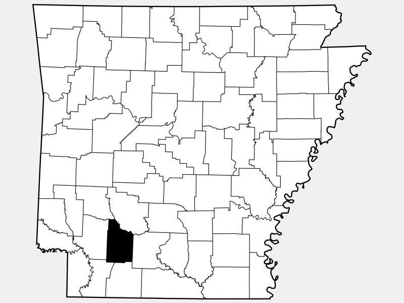 Nevada County locator map