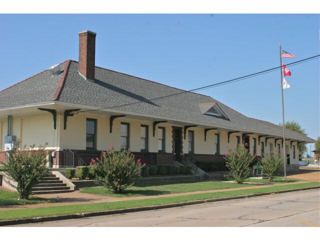 Missouri-Pacific Depot Newport  AR image