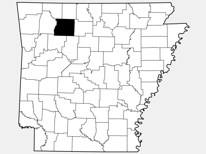 Newton County location map
