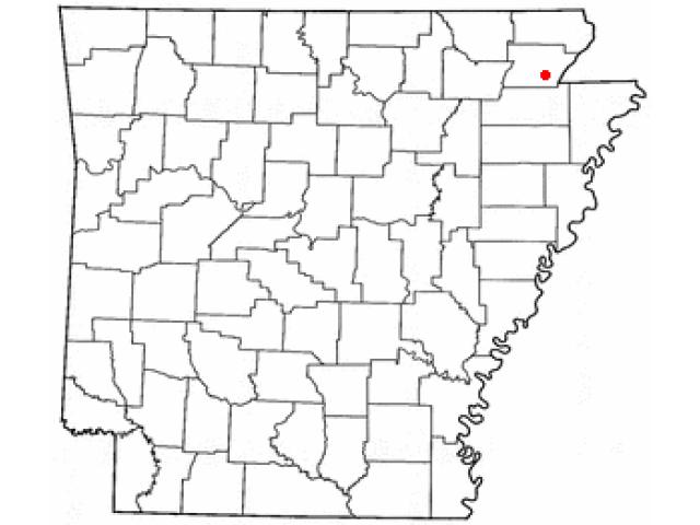 Paragould locator map