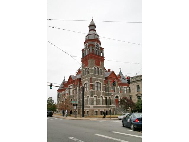 Pulaski county arkansas courthouse image