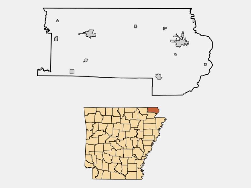 Rector locator map