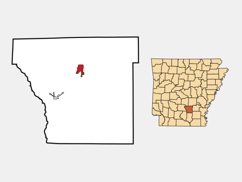 Rison locator map