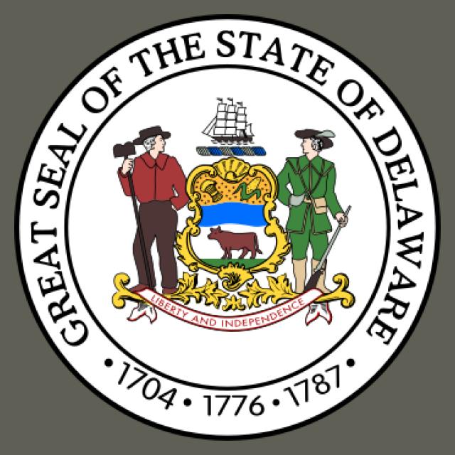 Seal of Delaware seal image