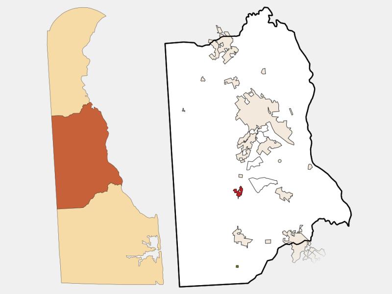 Felton locator map