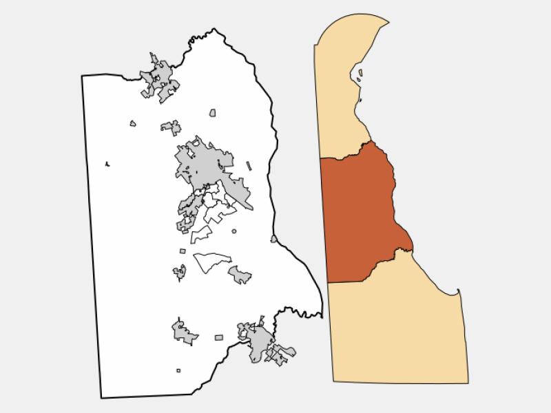 Harrington locator map