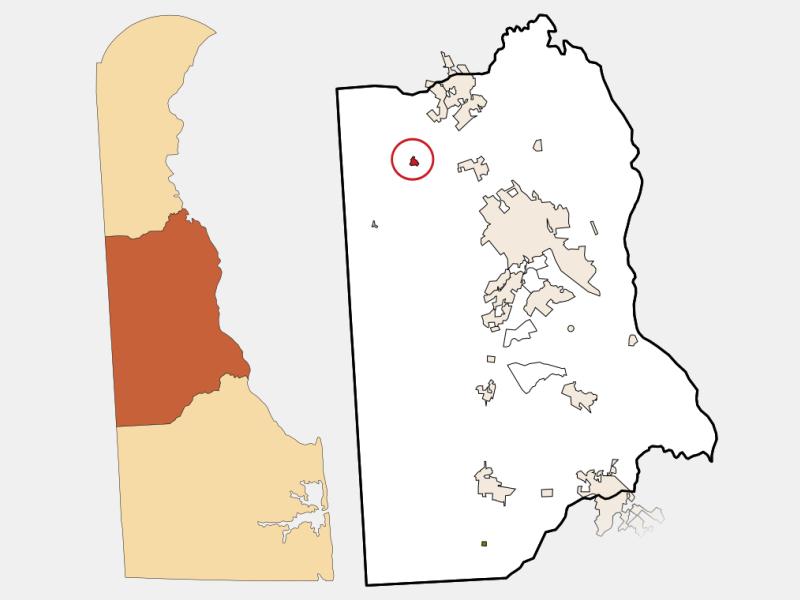Kenton locator map