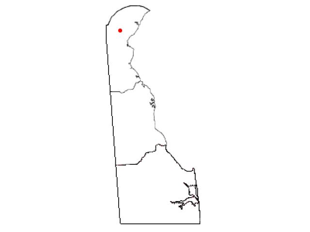 Pike Creek locator map
