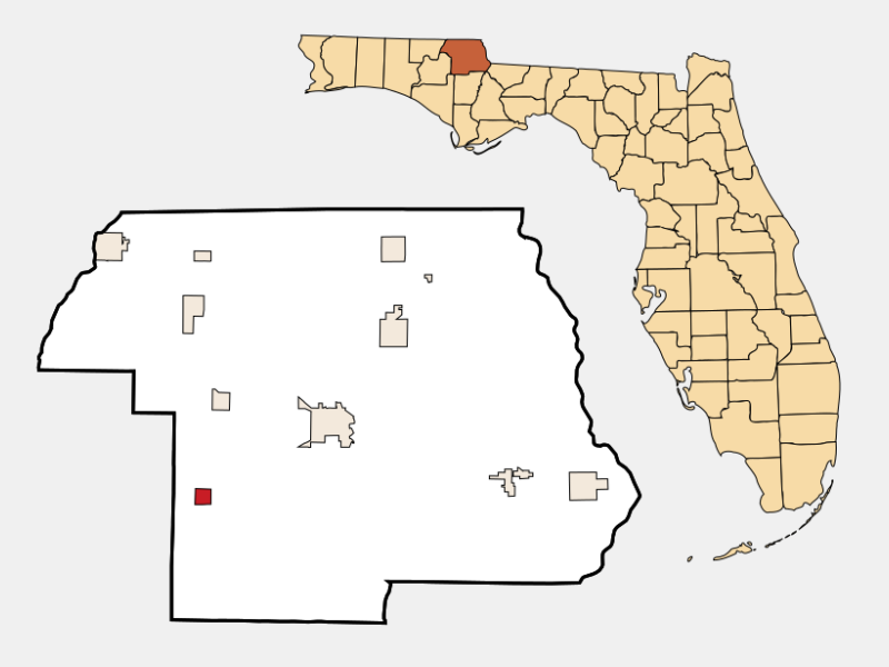 Alford locator map
