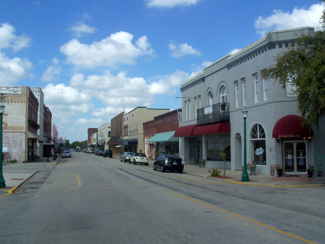 Arcadia Hist Dist downtown Oak Street west01 image