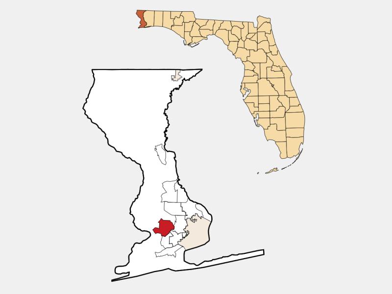 Bellview locator map