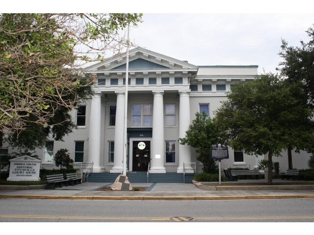 Titusville  FL  Courthouse  Brevard County  08-07-2010 '5' image