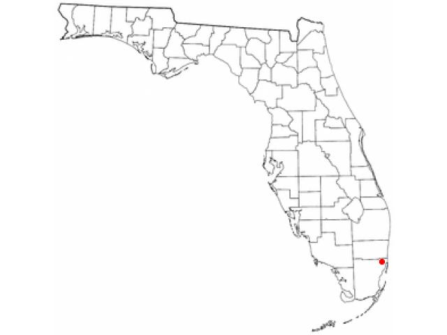 Bunche Park location map