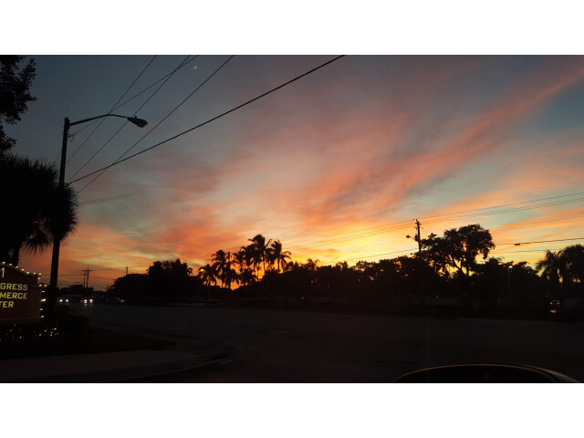 Sunset in Coconut Creek Florida image