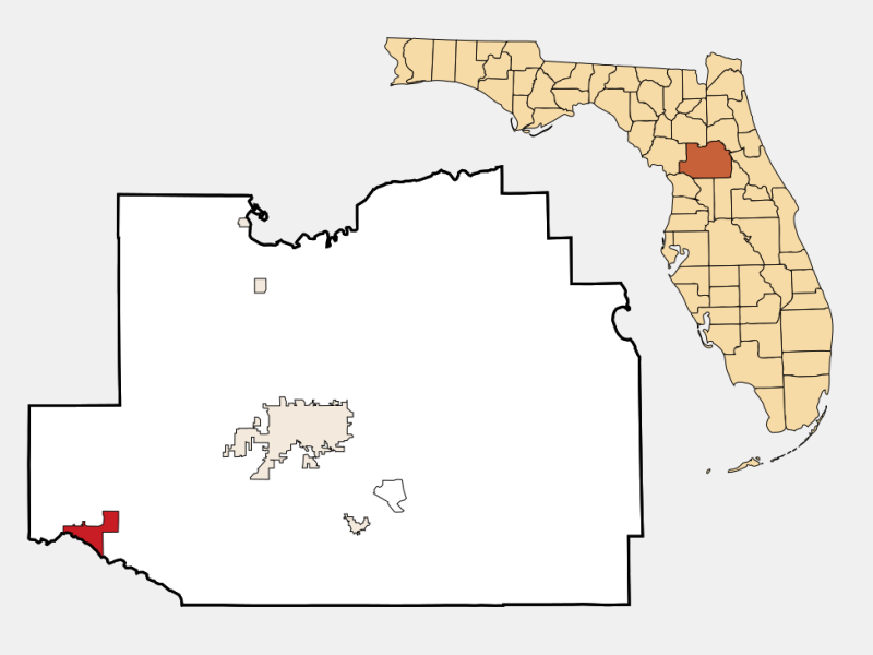 Dunnellon location map