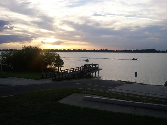 Eagle Lake Florida Overlooking Dock image