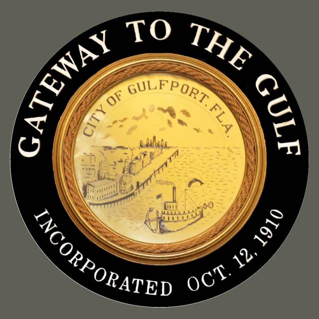 Seal of Gulfport  Florida seal image