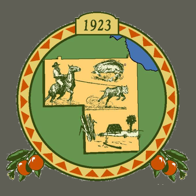 Seal of Hendry County  Florida seal image