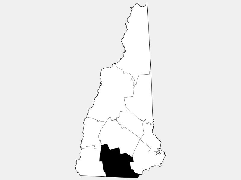 Hillsborough County locator map