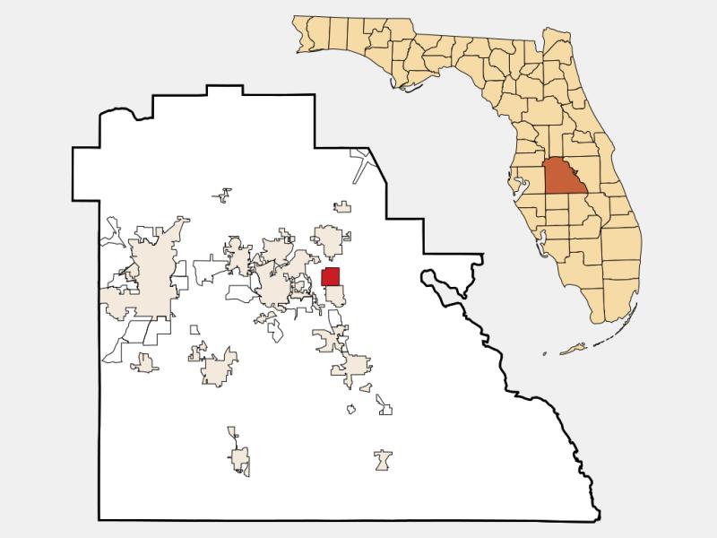 Lake Hamilton locator map
