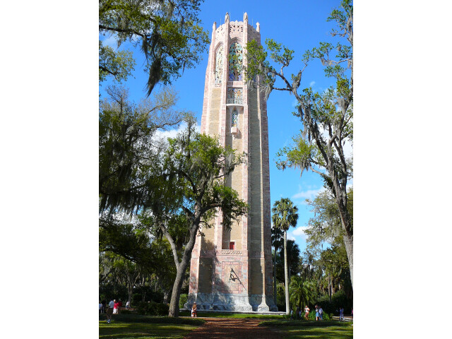 Bok Tower rear image
