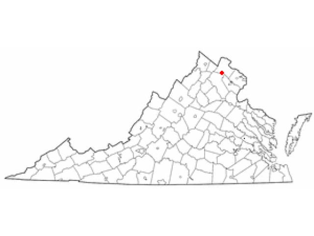 Middleburg locator map