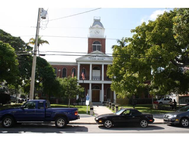 Key West  FL  Courthouse  Monroe County  North Side  11-22-2010 '15' image