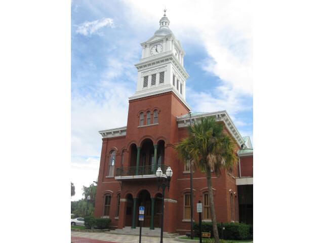 Fernandina Beach  FL  Courthouse  Nassau County  08-09-2010 '7' image