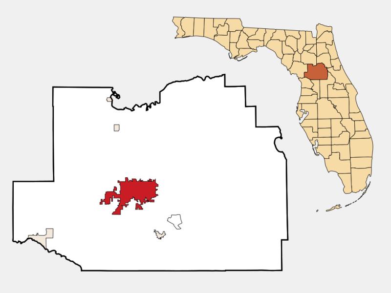 Ocala locator map