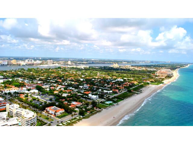 PALM BEACH FLORIDA AERIAL 2011 image