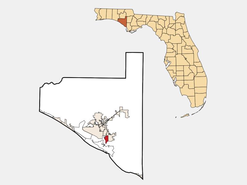Parker locator map