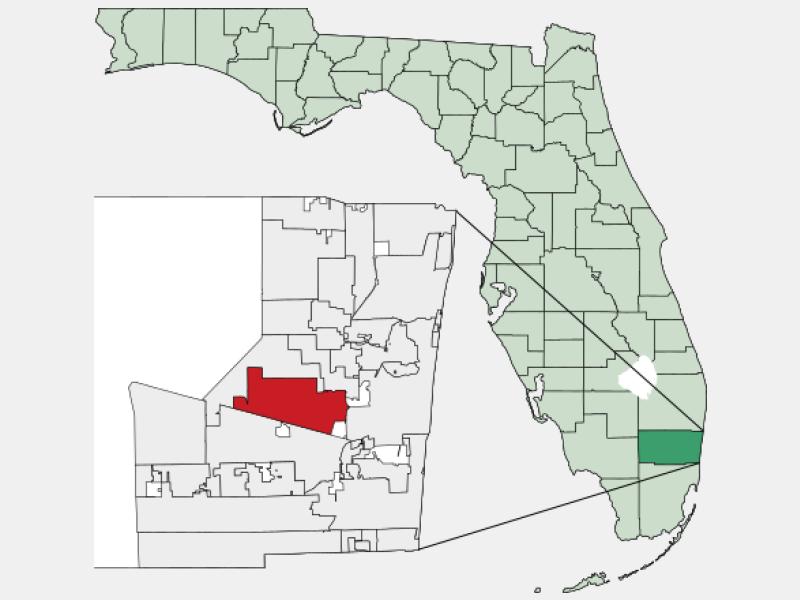 Plantation locator map