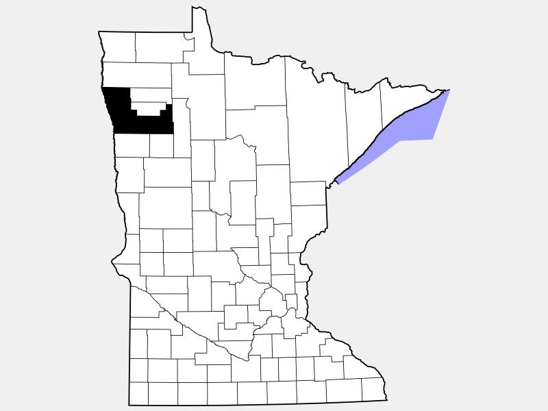 Polk County location map