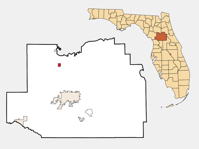 Reddick locator map