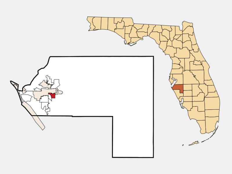 Samoset location map