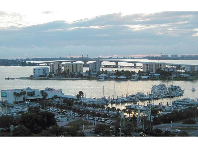 Sarasota Bay and waterfront  Sarasota  Florida '2003' image