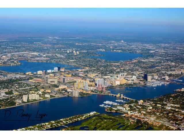 West Palm Beach Aerial November 2014 photo D Ramey Logan image