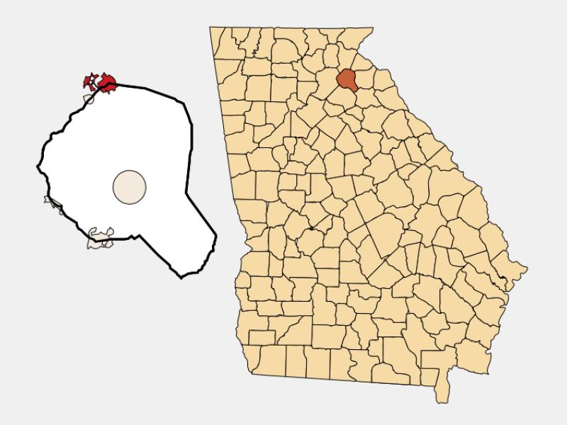 Baldwin locator map