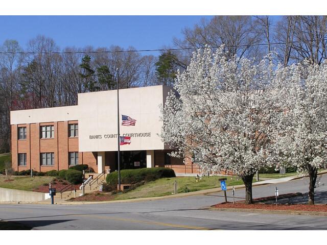 Courthouse of Banks County  Georgia image
