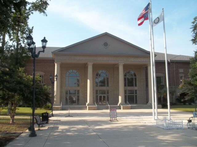 GA Woodbine new Courthouse01 image