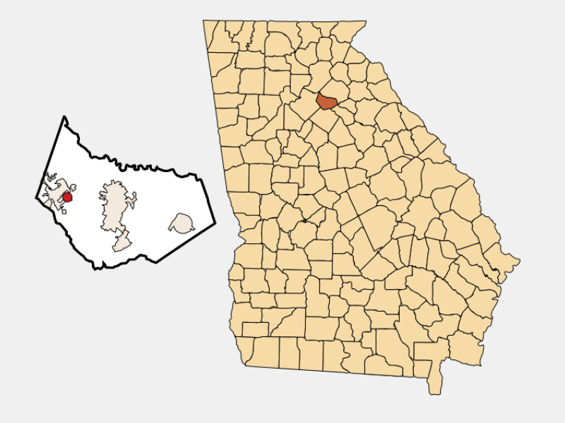 Carl locator map