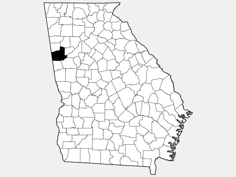 Carroll County location map