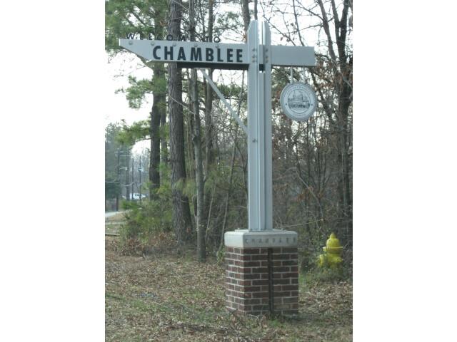 Chamblee sign image